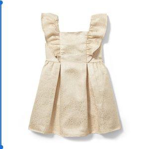 Shimmer Jacquard Dress & Headband